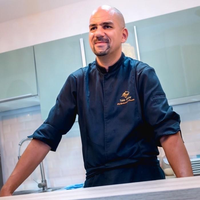 Philippe Lescot, chef à domicile dans le Var, côte d'Azur, Saint Tropez