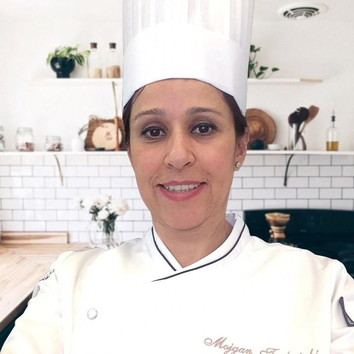 Mojgan Tashvighi, chef à domicile sur Lyon