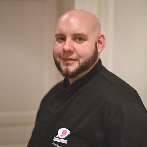 Arnaud Vaudon, chef à domicile paris