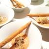 Oeuf parfait, émulsion de foie gras au piment d'Espelette