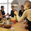 Cours de cuisine à domicile avec un chef