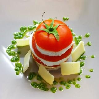 Tomate mozzarella à ma façon