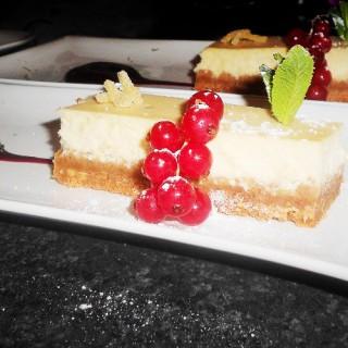 Cheesecake chocolat blanc gingembre