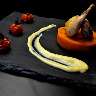 Pigeon, patate douce