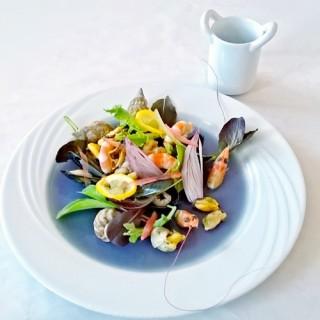 Salade de bulots et crevettes
