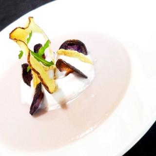 Velouté tarot-coco