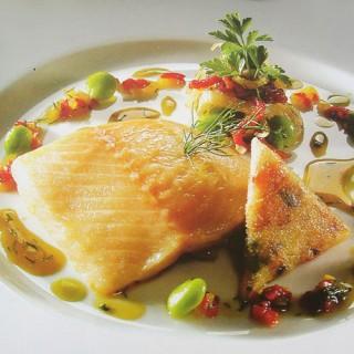 Le poisson et ses légumes