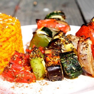 Grillades de légumes