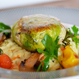 Paupiettes de légumes et tofu