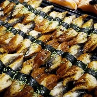Sushis aux anguilles
