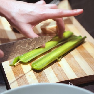 Découpe des légumes