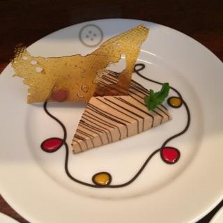 Café et Baileys cheesecake