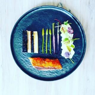 Magret / salsifis / végétaux