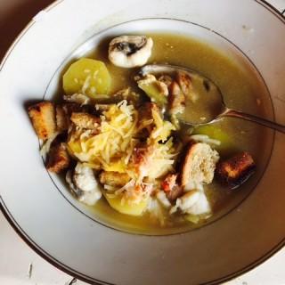 Bouillabaisse crabe et lotte
