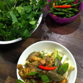 Curry vert thaï (Atelier)