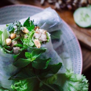 Rouleaux de printemps à la laotienne