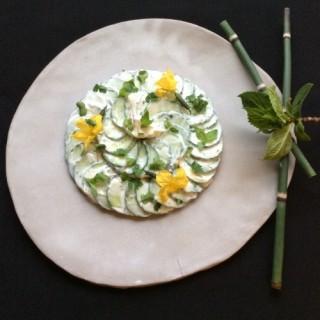 Salade de Concombre relevée à la Savora