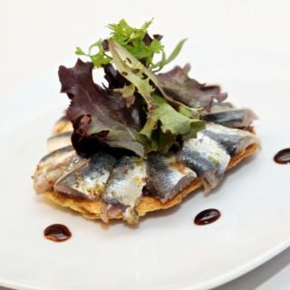 Sardines rafraichissantes en feuilleté et balsamique