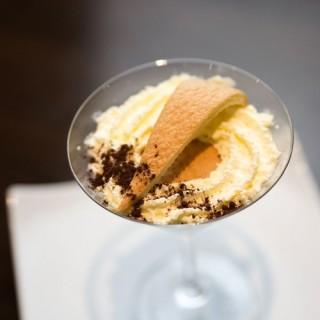 Tiramisu siphoné Martini