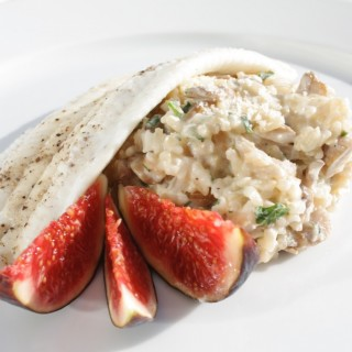 Filet de Sole Risotto de Cèpes et Chardonnay