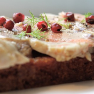 Foie gras de Lotte et Pain d'épices