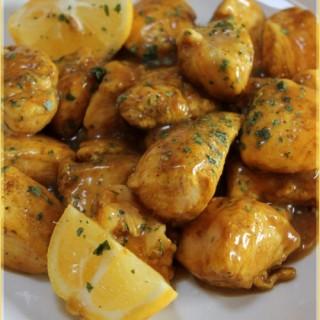 Sauté de poulet au citron