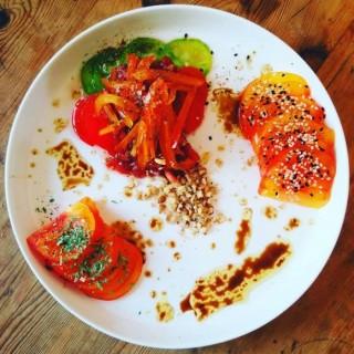 Déclinaison de la tomate.
