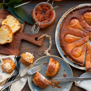 Les desserts du brunch