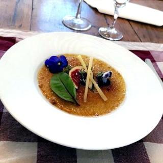 Crème brûlée Figues/Foie gras