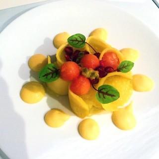 Fraîcheur de fruits exotiques