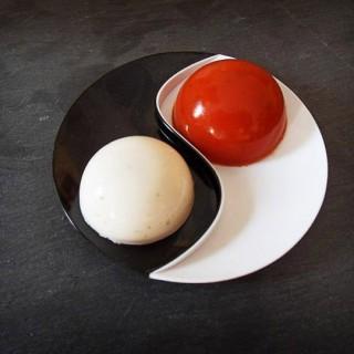 Dôme tomate pesto