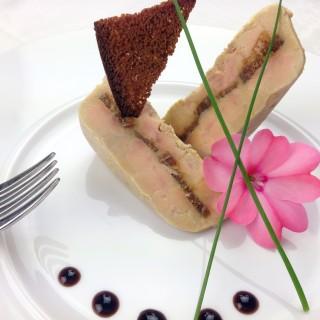 Foie gras au ratafia de champagne