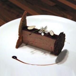 Foie gras et sa gelée de griotte