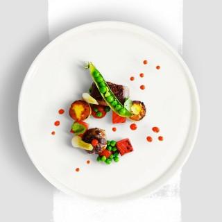 Magret de canard et ses petits légumes