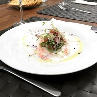 Salade saumon, radis