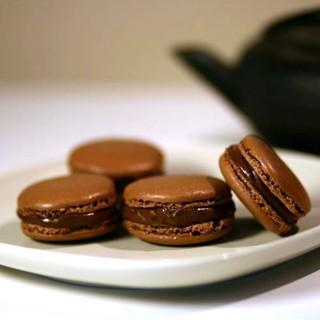 Maccaron tout chocolat
