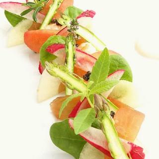 Salade fraîche d'asperges
