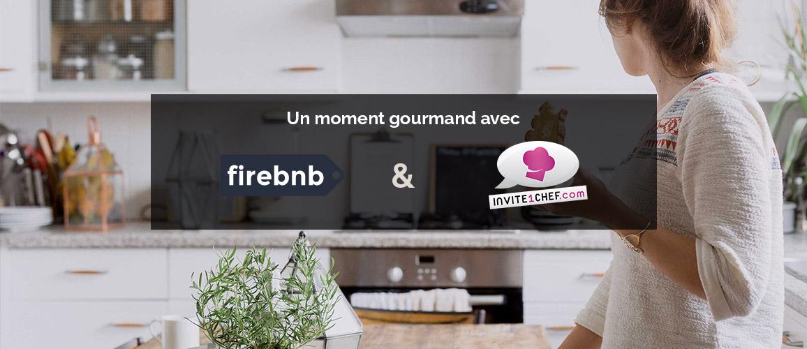 Réservez un chef à domicile pour votre séjour avec Airbnb, grâce à Firebnb