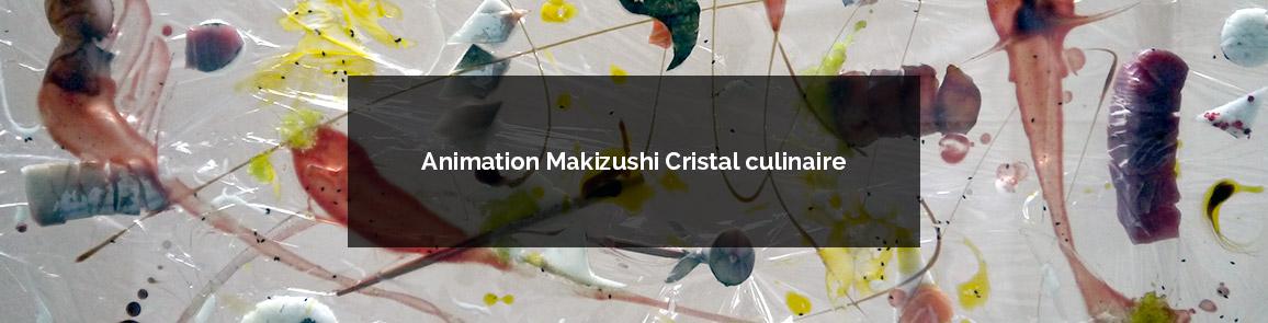 Animation culinaire artistique autour des makizushi