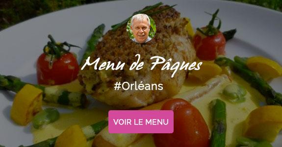 Alain Talbot, chef à domicile sur Orléans, menu de Pâques