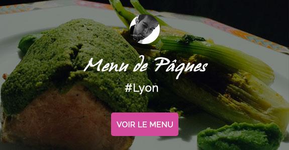 Florent Gouverneur, chef à domicile sur Lyon, menu de Pâques