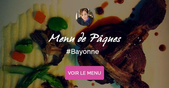Maeva Lezaud, chef à domicile sur Bayonne, menu de Pâques