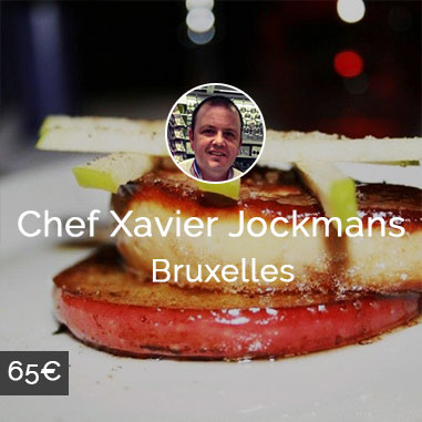 Chef à domicile Bruxelles Xavier Jockmans