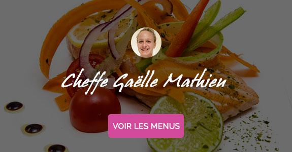 Gaëlle Mathieu, chef à domicile sur Cannes et Nice