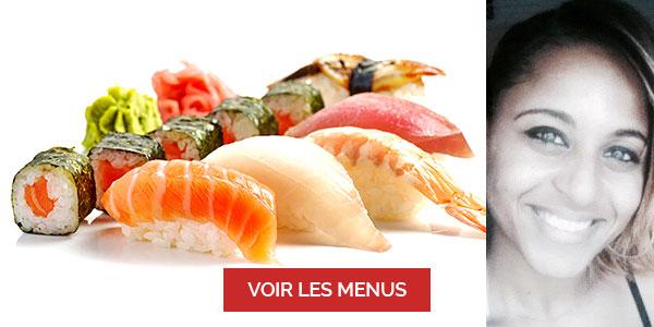 Vanessa Andre, chef à domicile sur Lyon, cours de sushi