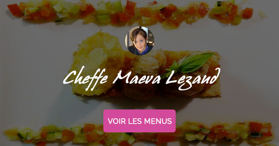 Maeva Lezaud, chef à domicile Bayonne
