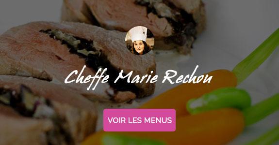 Marie Rechou, chef à domicile Toulouse