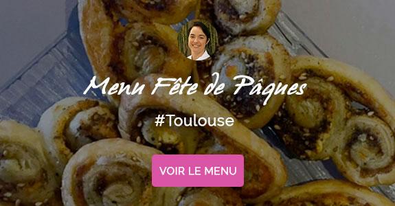 Bénédicte Hatoum, chef à domicile Toulouse, menu de Pâques