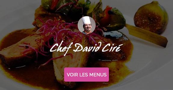 David Ciré, chef à domicile sur Metz