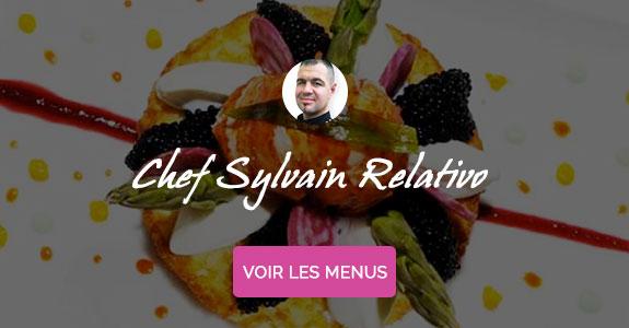 Sylvain Relativo, chef à domicile sur Metz